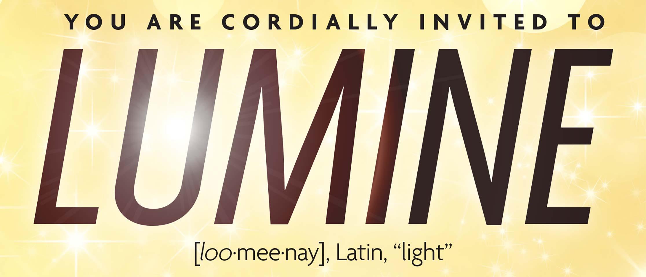 Lumine Poster